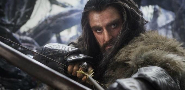 THE NEXT ARAGORN. Richard Armitage, who plays the dwarf prince Thorin may well match the performance and popularity of King Aragorn in the LOTR franchise. This dude rocks.