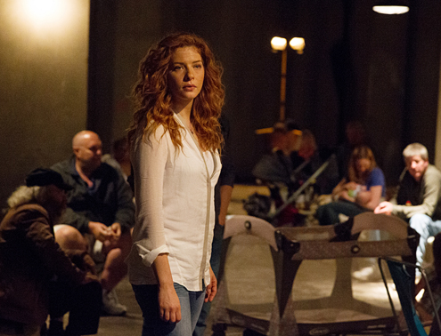 PRETTY DRY. There is no doubt that Rachelle Lefevre is gorgeous but her portrayal of a leading character leaves a lot to be desired.