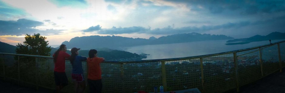 SUNRISE AT MT. TAPYAS. Good morning Coron! What a way to welcome the day, (Sheryl Ascano)