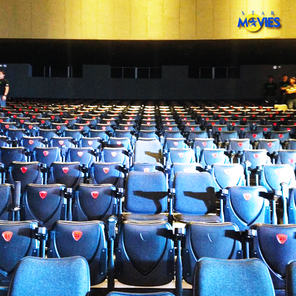 SAMSUNG HALL AT SM AURA. Adding to the challenge are the narrow seats, that are better fit for events than a movie marathon. But the challenge is supposed to be tough so only the most deserving will survive. (Star Movies FB page)