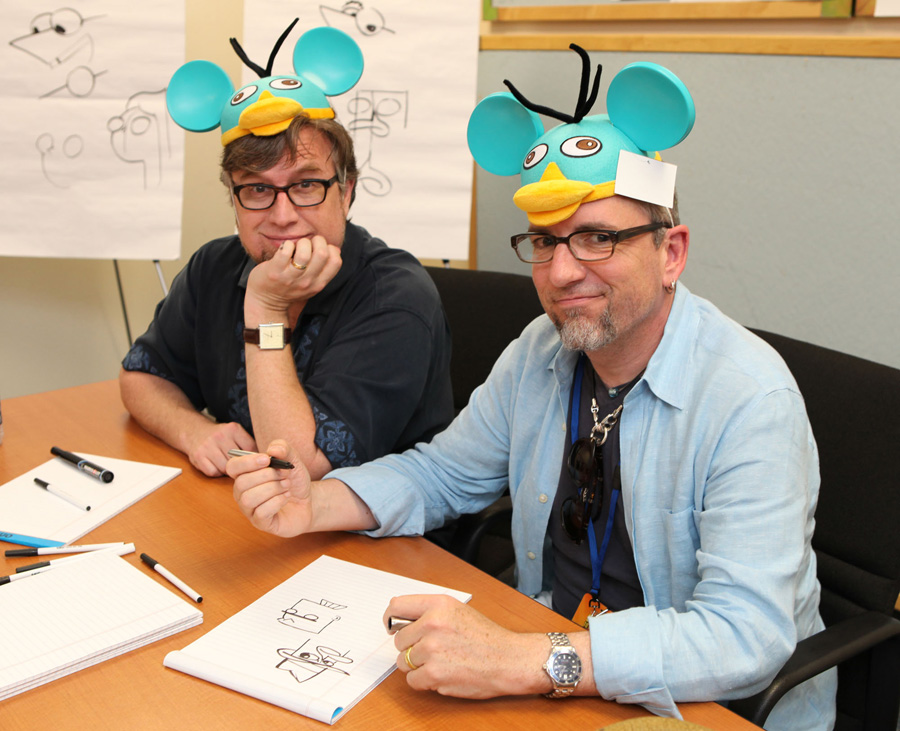 Dan Povenmire and Swampy Marsh