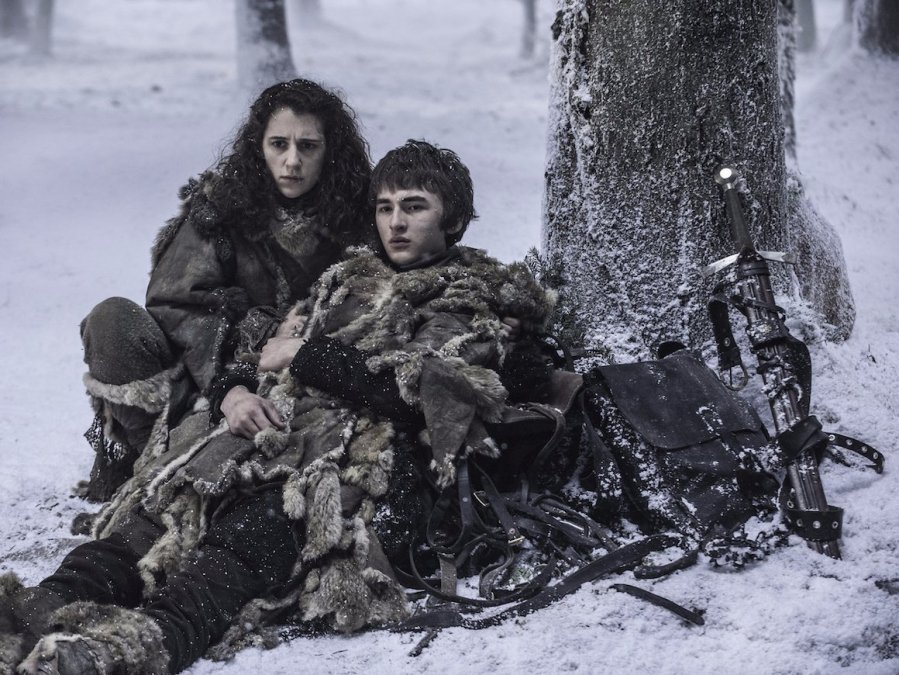 bran and meera game of thrones hbo